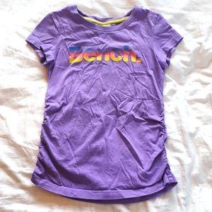 Bench Girls Size 6 Purple Tee Shirt